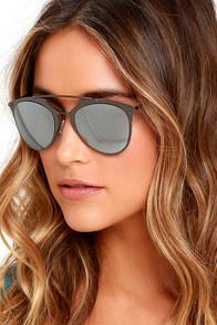 image Top Stun Gunmetal Mirrored Sunglasses