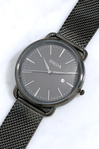 image Breda Linx Gunmetal Watch