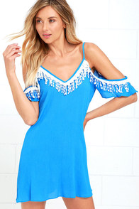 image Orchard Ridge Blue Lace Dress