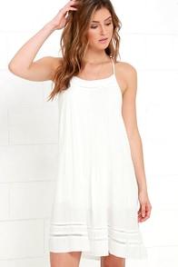 Gentle Fawn Script Ivory Dress