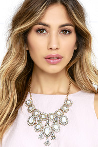 image The Real Bling Gold Rhinestone Necklace