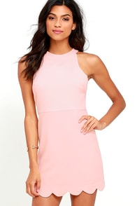 Favorite Feeling Peach Dress