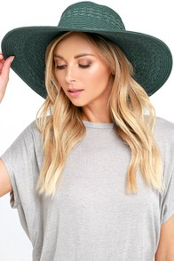 image Billabong Paloma Sage Green Straw Hat