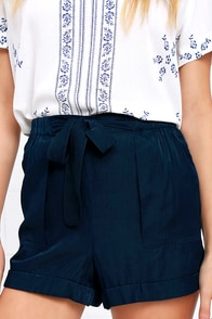 image Picnic for Two Navy Blue Shorts