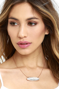 image Best-Kept Secret Rose Gold Necklace