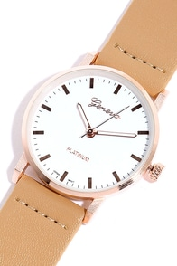 Dream Team Rose Gold and Beige Watch