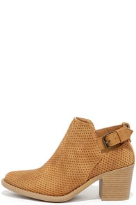 image Abbey Road Tan Ankle Booties