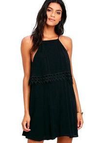 image Flamenco Fling Black Lace Dress