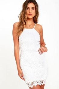 Riviera Resort Ivory Lace Dress