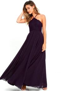 image Everlasting Enchantment Purple Maxi Dress