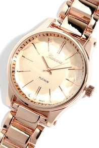 Pace Yourself Rose Gold Watch