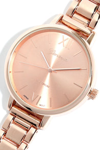Hour Love Rose Gold Watch