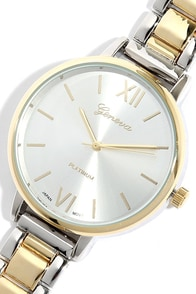 Hour Love Gold and Silver Watch