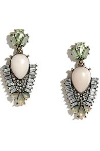 image Intergalactic Enchantment Light Pink Rhinestone Earrings
