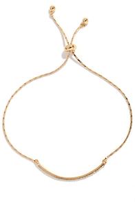 image Absolutely Exquisite Gold Rhinestone Bracelet