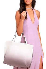 image Tote-ally Rufus Taupe Ombre Reversible Tote
