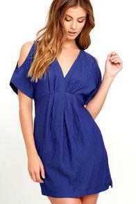 Game Changer Royal Blue Dress