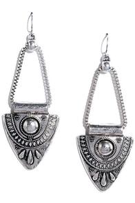 Urban Casbah Silver Earrings