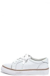 Sixtyseven 77704 Burna White Leather Sneakers