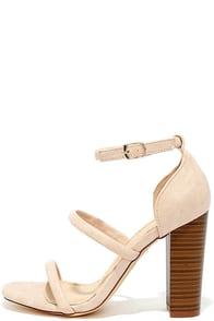 image Charmaine Nude High Heel Sandals