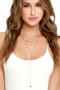 image Lucia Gold Layered Choker Necklace