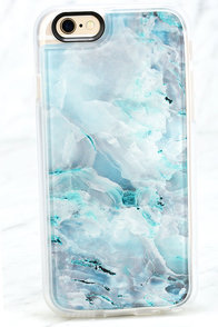 Casetify Teal Onyx Marble Blue iPhone 6 and 6s Case