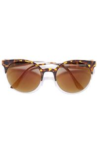 image Pip Tortoise Mirrored Sunglasses
