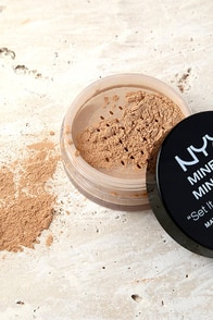 NYX Medium Dark Mineral Matte Finishing Powder