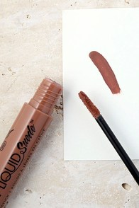 NYX Sandstorm Nude Liquid Suede Cream Lipstick