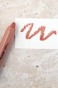 NYX Disrobed Dark Nude Simply Nude Lip Cream