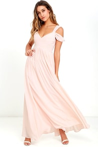 Make Me Move Blush Pink Maxi Dress
