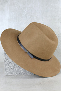Close to Home Taupe Hat
