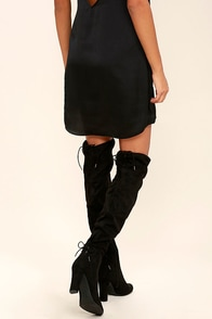 Circus by Sam Edelman Jasmine Black Over the Knee Boots