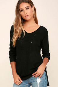 Casual Friday Black Sweater
