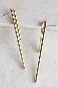 Sense of Style Gold Earrings