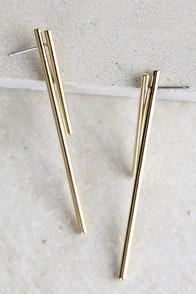Sense of Style Gold Earrings 1