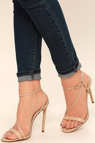 Toulouse Nude Dress Sandals