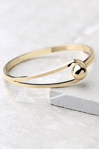 Feel the Connection Gold Bracelet