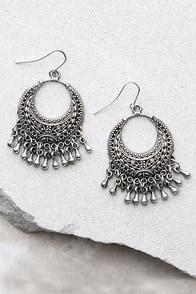 Nomadic Silver Earrings