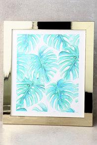 DENY Designs Paradise Palms Framed Wall Art 1