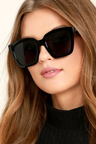 Perverse Ace Black Sunglasses