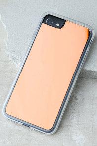 Zero Gravity Rose Gold Mirror iPhone 7 Case
