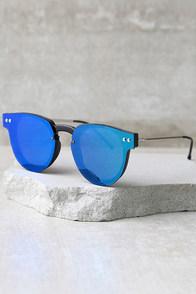 Spitfire Sharper Edge 2 Black and Green Mirrored Sunglasses