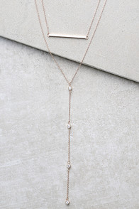 Kindness Rose Gold Layered Necklace