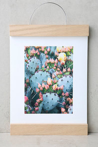 DENY Designs Prickly Pear Art Print and Hanger