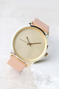 Any Second Blush Pink Watch