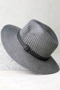 Treescape Grey Wool Fedora Hat