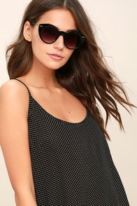 Spitfire Super Symmetry Black Sunglasses