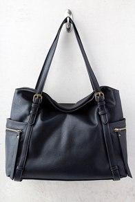 Carry Me Home Black Handbag