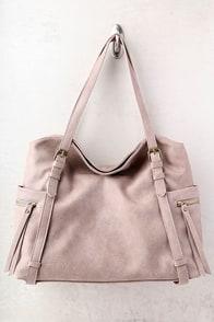 Carry Me Home Taupe Handbag